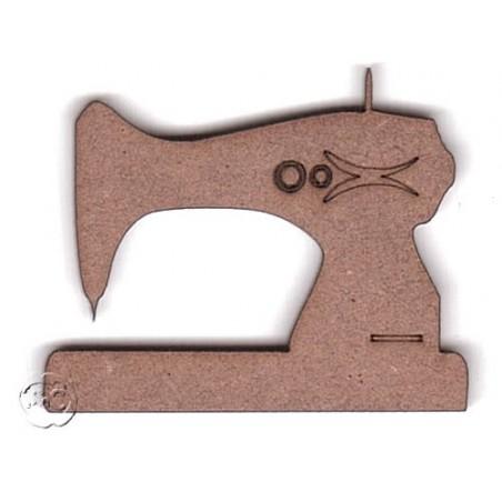 Silueta madera para scrap maquina de coser