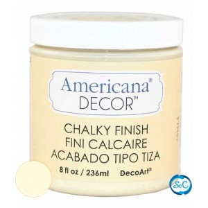 Pintura Chalky Finish Decoart, Susurro473 ml ADC03