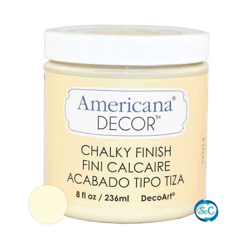 Pintura Chalky Finish Decoart, Susurro 236 ml ADC03