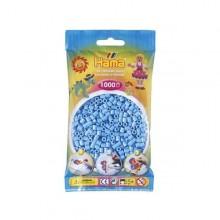 Hama Beads 1000 piezas Midi azul pastel
