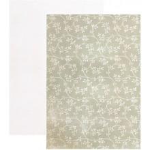 Coleccion Santoro Willow N7 A4 Filigrana de hojas