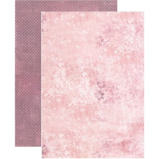 Coleccion Santoro Willow N9 A4 Pared rosa
