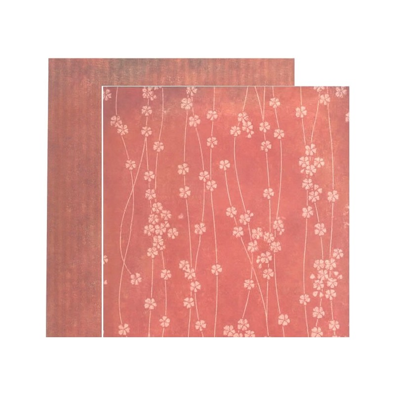 Coleccion Santoro Willow NB12 30 cm tiras de flores