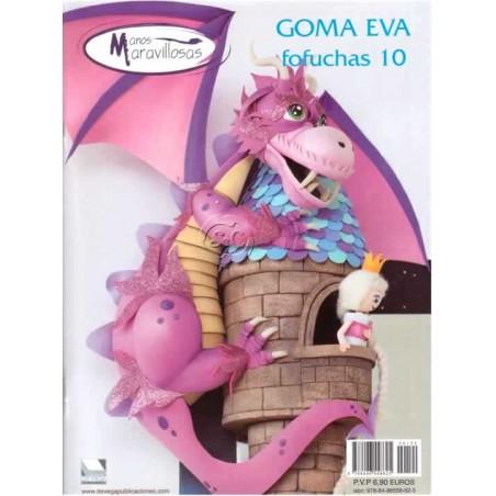 Revista Goma Eva, Manos Maravillosas, fofuchas Nº 10