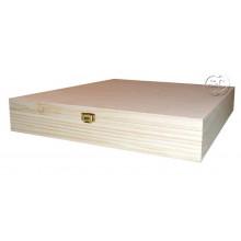 Caja de madera album 32 x 22 cm