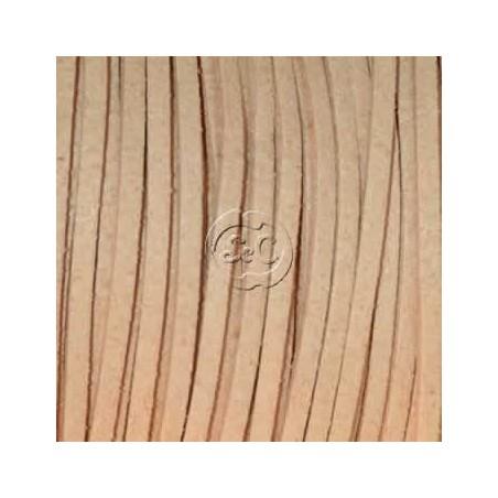 Cordon de antelina, natural 5 metros