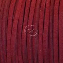 Cordon de antelina, granate 5 metros