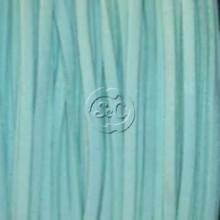 Cordon de antelina, turquesa claro 5 metros