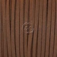 Cordon de antelina, marron oscuro 5 metros