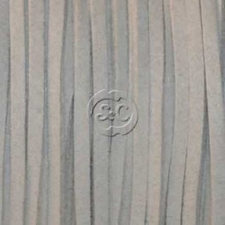 Cordon de antelina, gris 5 metros