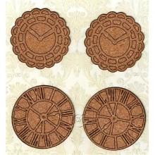 Relojes de corcho 6 cm