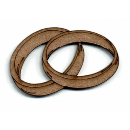 Silueta madera para scrap Alianzas