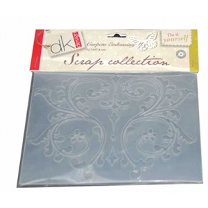 Carpeta embossing Flores Scrap Collection