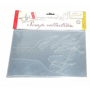 Carpeta embossing Arbol Scrap Collection