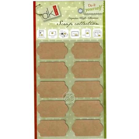 Etiquetas craft adhesivas 1