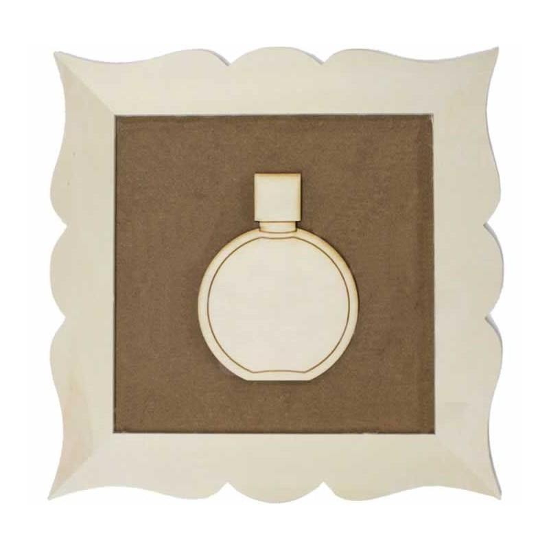 Marco perfume Redondo 24x 24 cm