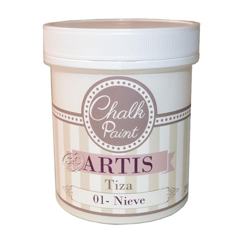 Pintura tiza Artis Nieve 250 ml