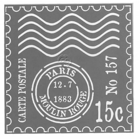Plantilla Americana Mata sellos Paris, ADS13
