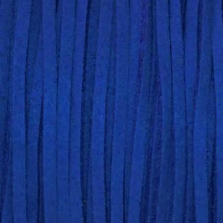 Cordon de antelina azulon 5 metros