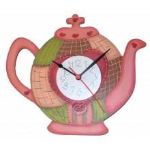 Esfera de reloj silueta tetera