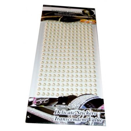 Perlas adhesivas 6 mm