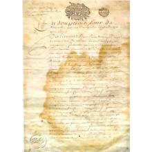 Papel de arroz Documento antiguo PAU59
