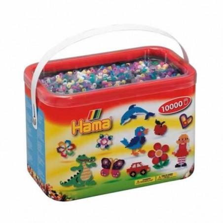 Hama Beads 10000 piezas Midi mix 69