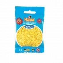 Hama Beads 1000 piezas Mini Amarillo