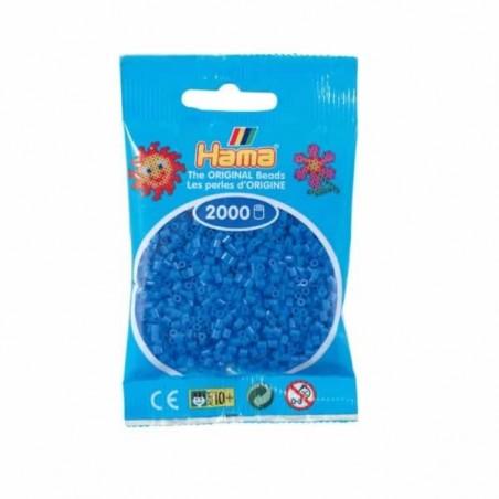 Hama Beads 2000 piezas Mini Azul claro