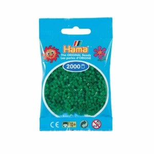 Hama Beads 2000 piezas Mini Verde