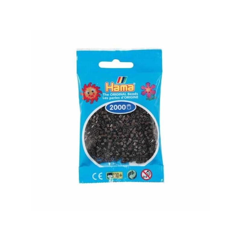 Hama Beads 1000 piezas Mini Marron