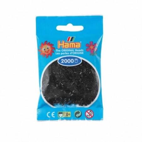 Hama Beads 2000 piezas Mini Negro