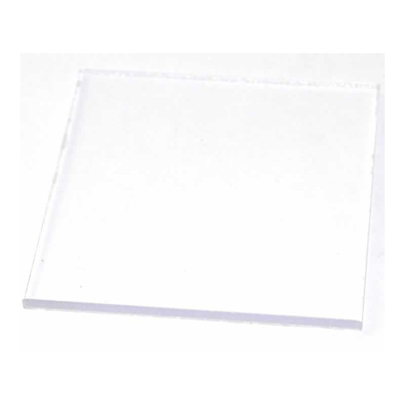 Soporte para sellos acrílico, 6 x 6 cm