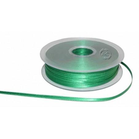 Cinta para bordado verde 3 mm 1 metro