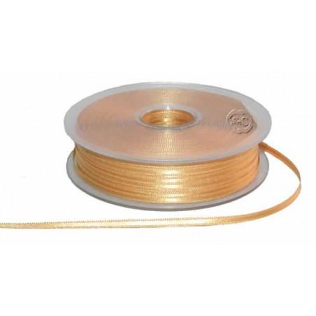 Cinta para bordado beige 3 mm 1 metro