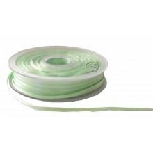 Cinta para bordado verde pistacho 3 mm 1 metro