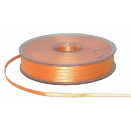 Cinta para bordado naranja 3 mm 1 metro