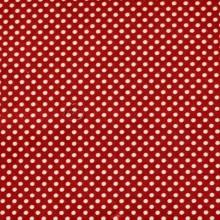 Tela patchwork granate puntos blancos