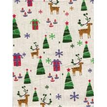 Tela patchwork Navidad