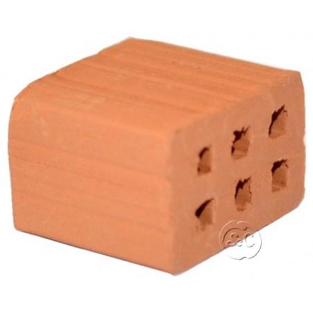 Medio ladrillo para maquetas doble hueco 25 unidades