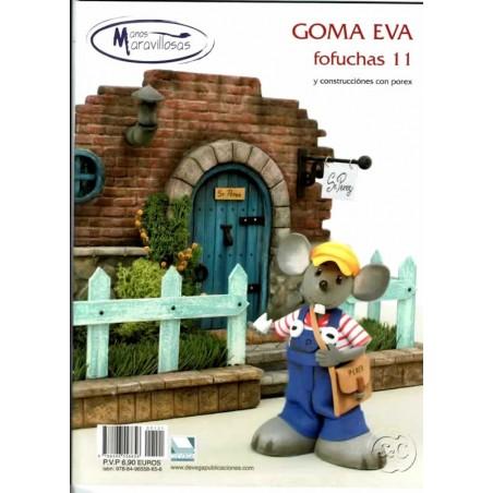 Revista Goma Eva, Manos Maravillosas, fofuchas Nº 11