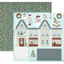 Papel Dayka para Scrapbooking Navidad SCP-076