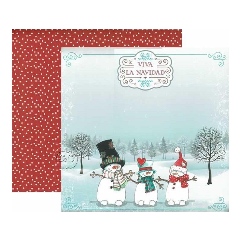Papel Dayka Viva la Navidad SCP-170