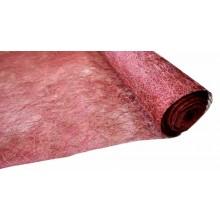 Tejido abaca color burdeos 50 cm