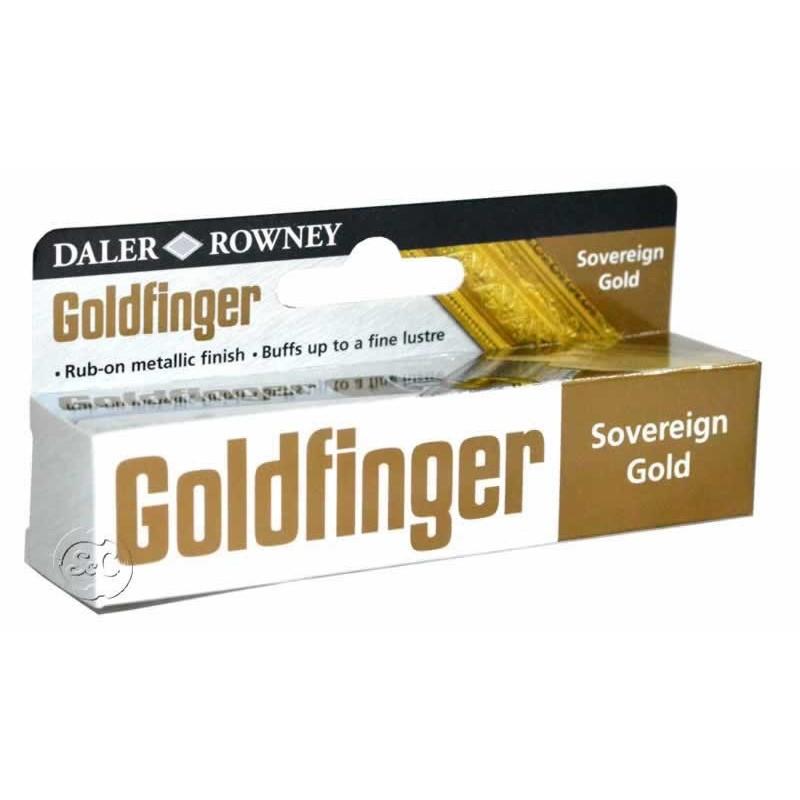 pasta de dedo metalica Goldfinger Oro rey