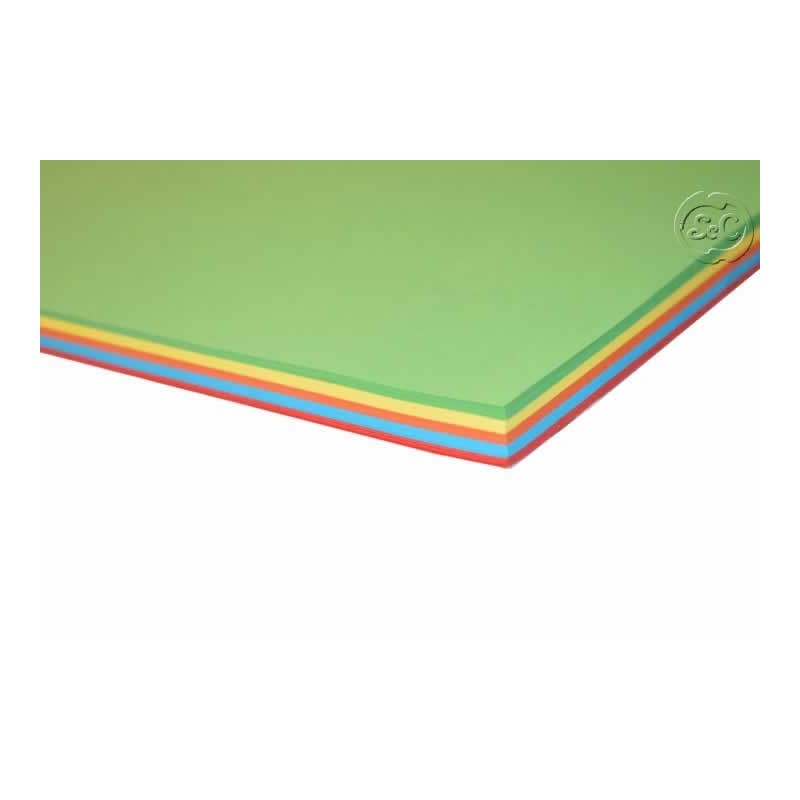 Folios de colores surtidos 100 hijas 80 gr