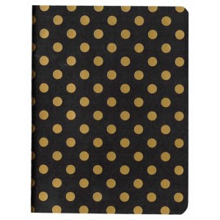 Libreta para midori notebook negra lunaes oro