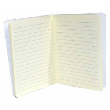 Libreta para midori notebook negra zig zag oro