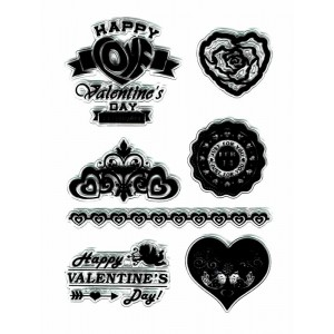Sello silicona San Valentin Happy