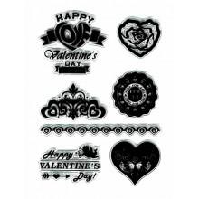 Sello silicona San Valentin Happy